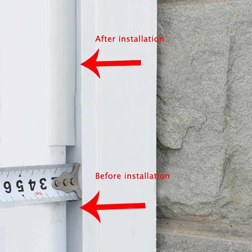 Door and Window Seals Door Bottom Windproof Insect-proof Window Insulation Adhesive Tape Grey&25mm (Grey)