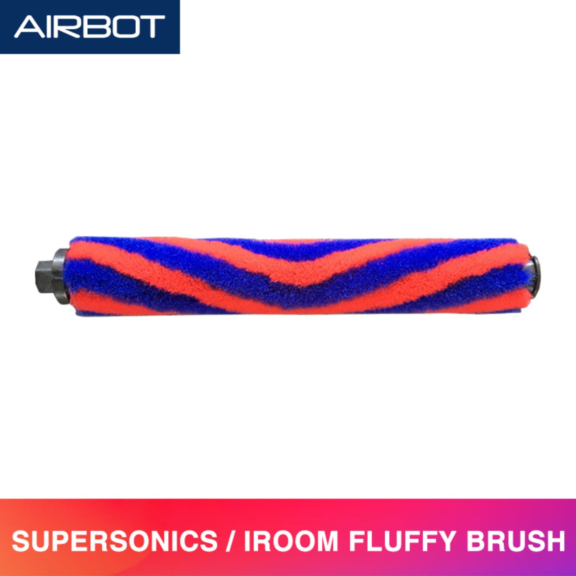 Airbot Fluffy Soft Floor Roller Brush Spare Parts Replacement Accessories Compatible with Supersonics and iRoom