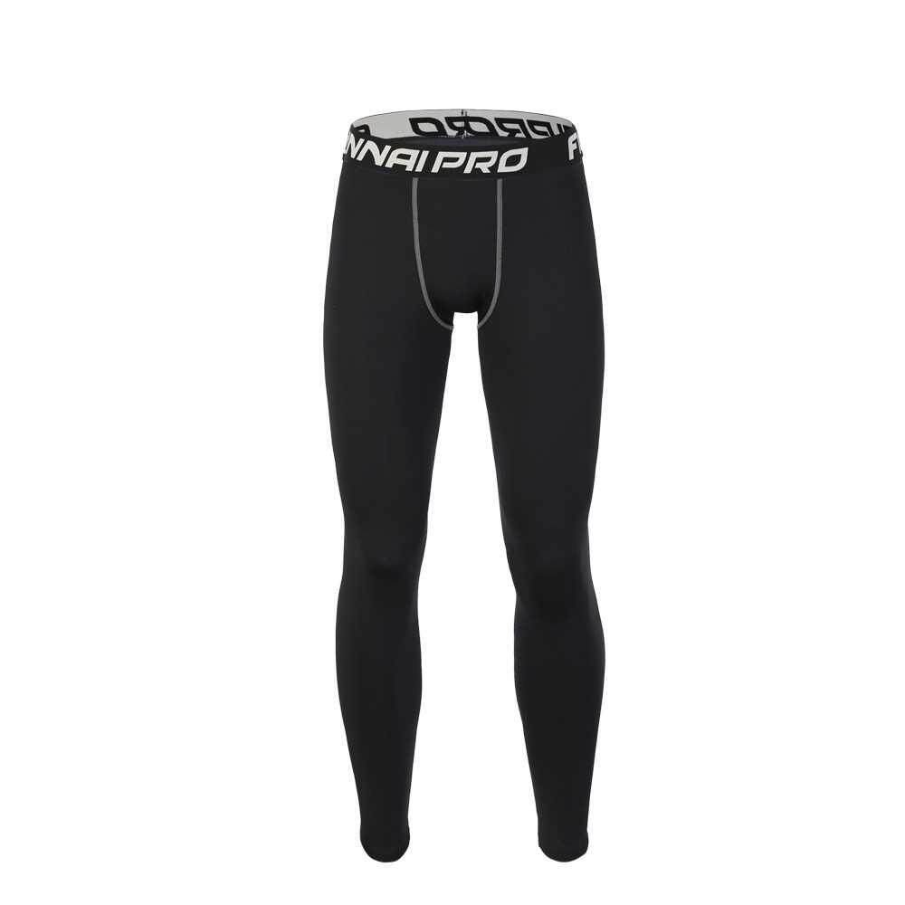 Fitness Sportswear Tights Trousers Basketball Running Trainning Compression Pants Springy Quick Drying Sweat-Free Leggings