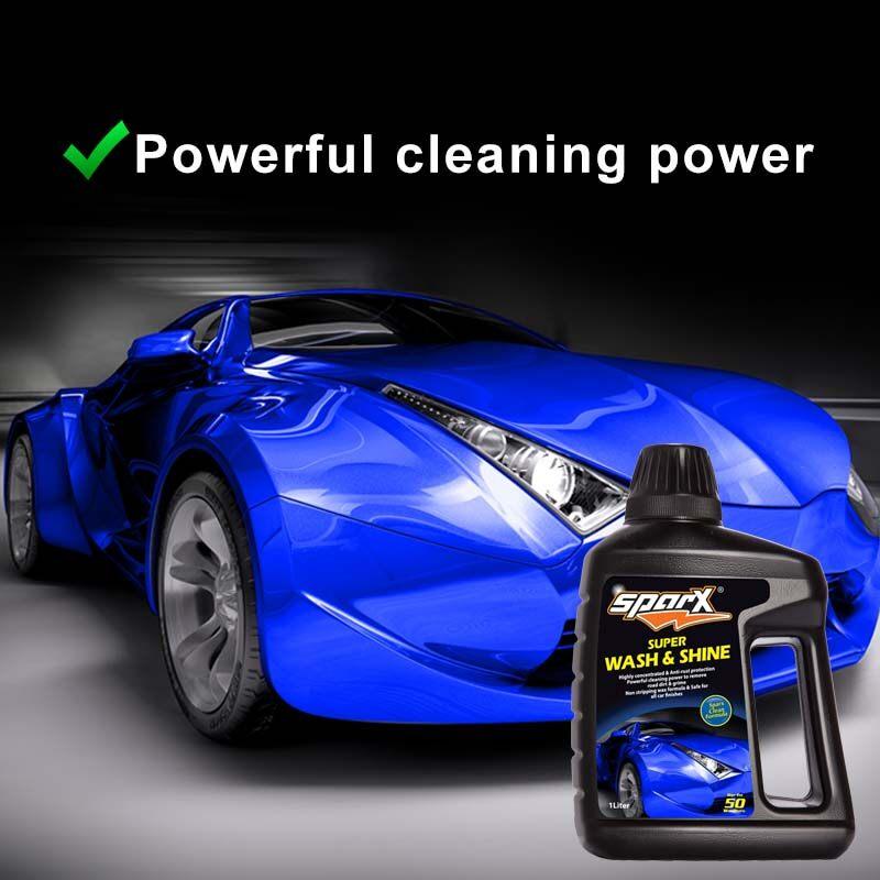 SPARX Car Wash and Shine Shampoo 1Liter