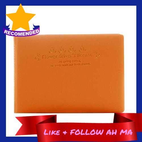 Best Selling Lovely Fresh Candy Color Cards Storage Bag (Orange)