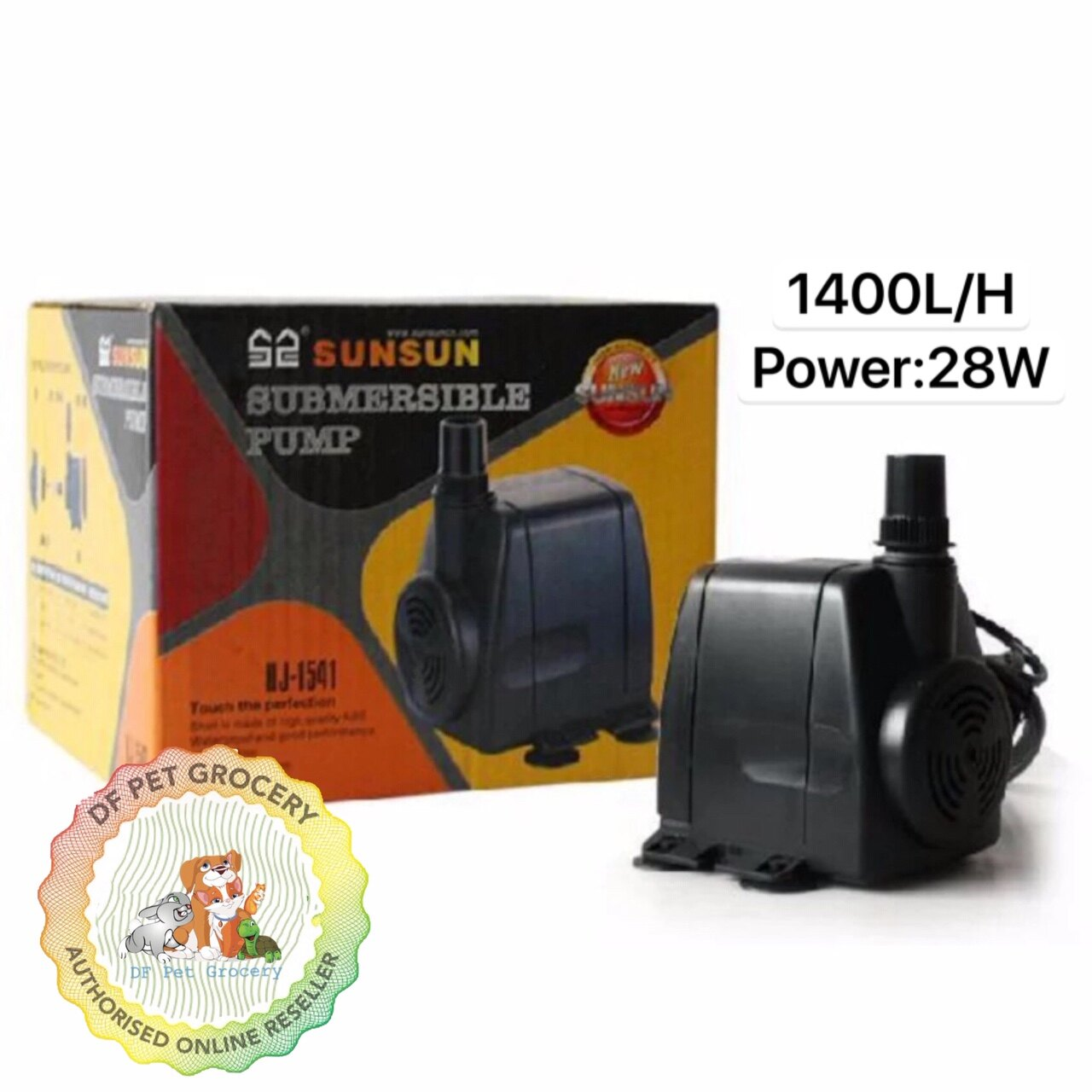 SunSun Submersible Water Pump HJ-1541 - Water Pump 1400L/H