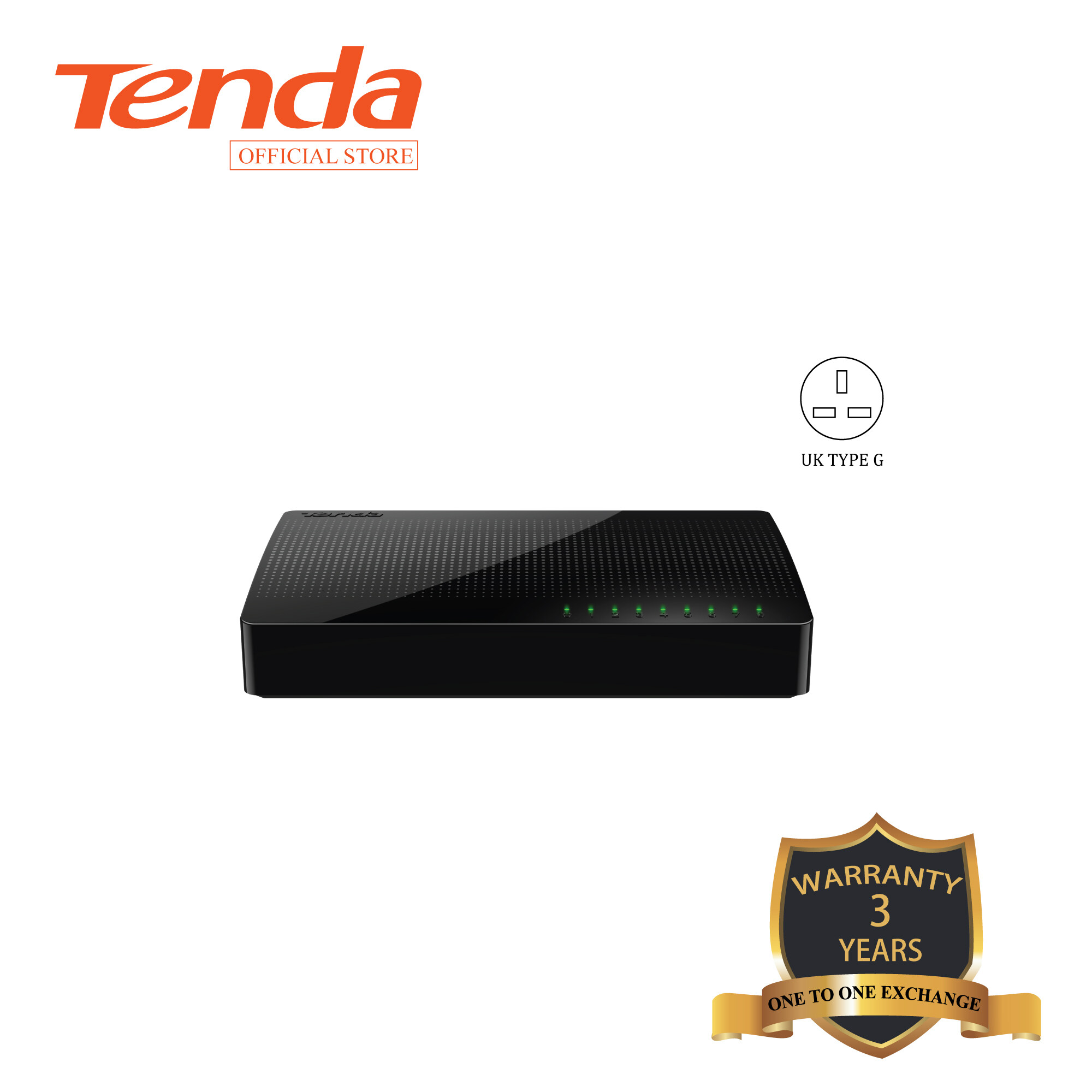 Tenda SG108 8-port Gigabit Ethernet Switch