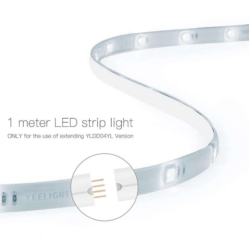 Lighting - WIFI Connected RGB Intelligent Strip Light (ONLY for the Use of extending YLDD04YL - WHITE