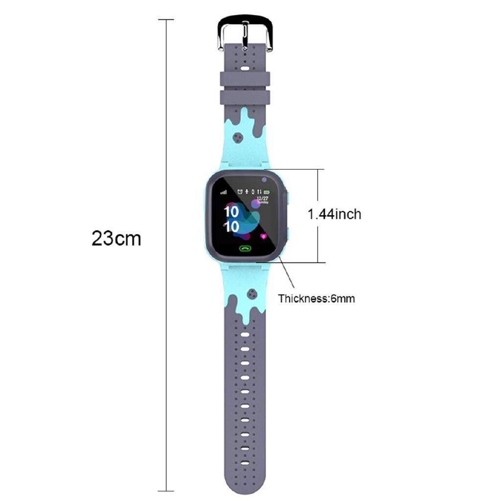 Smart Watch - Waterproof Kids Smart Watch GSM Tracker SOS Call Anti-Lost Android Children - BLUE / PINK