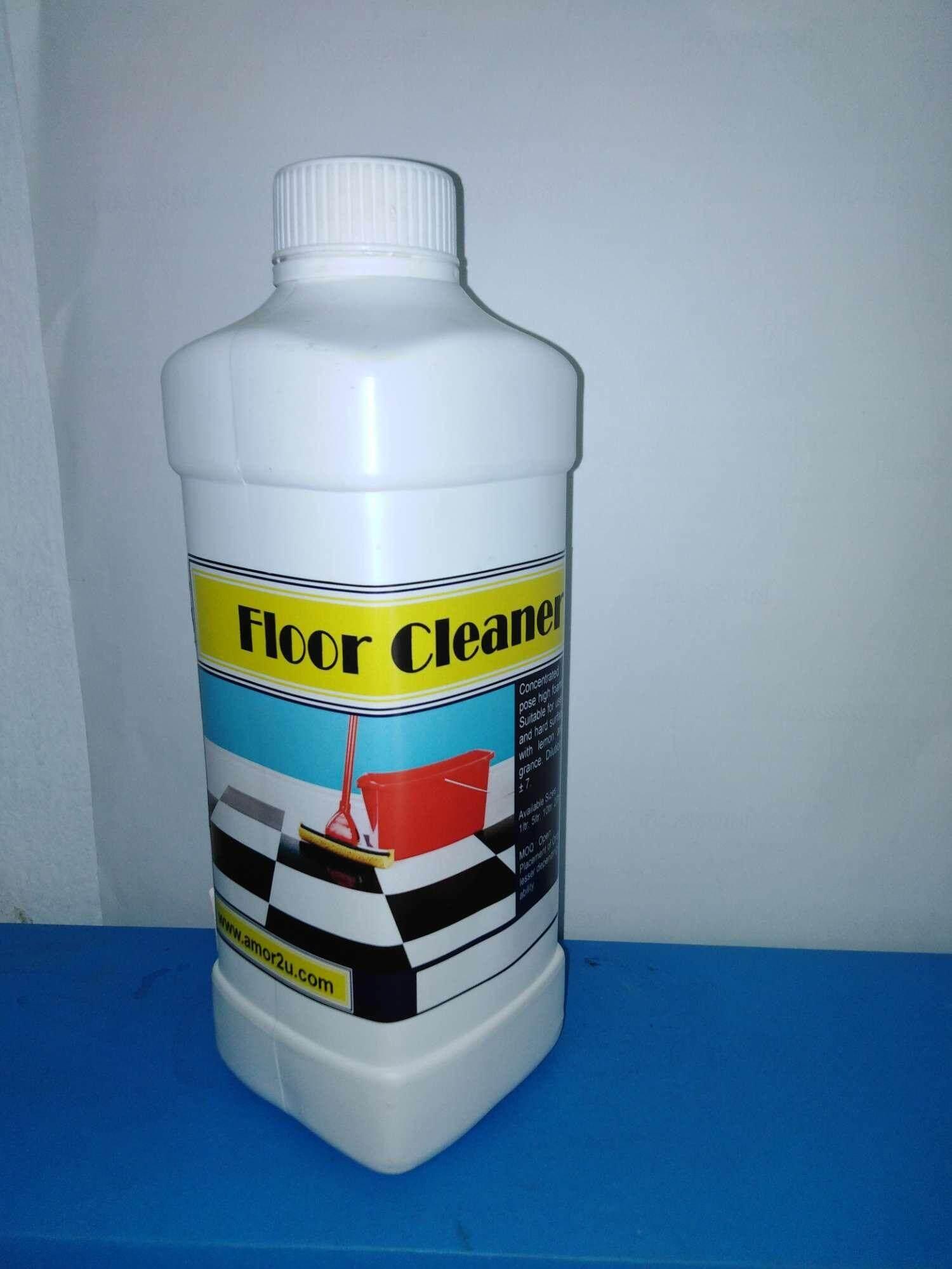1 pc of 1 liter apple fragrance floor cleaner