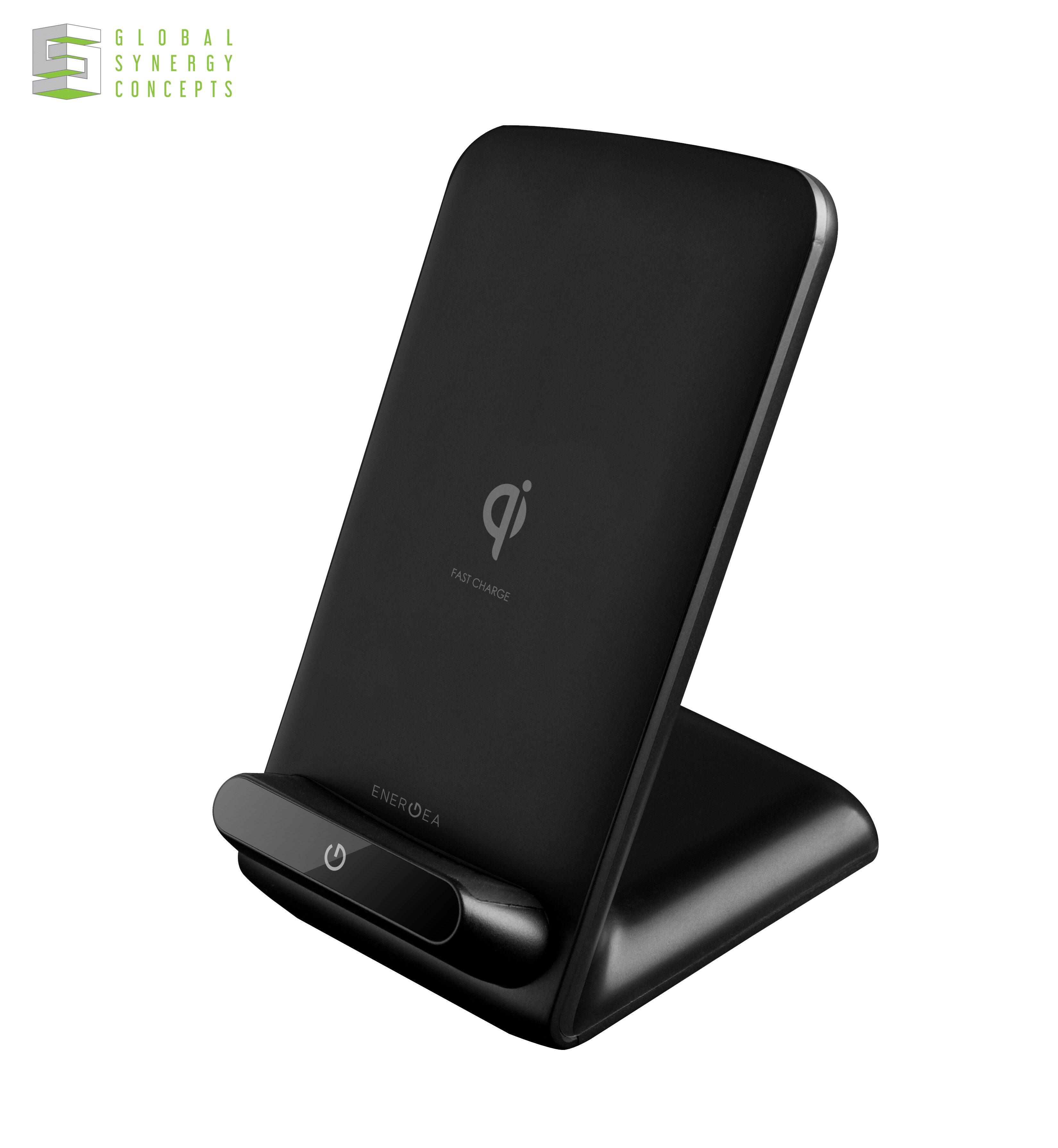 Energea WIDOCK 2-Coils Wireless Fast Charging Stand
