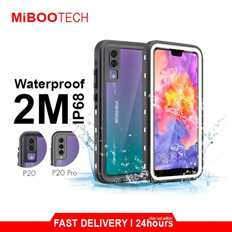 [Miboo] Huawei P30 & P30 Pro Waterproof Protection Mangeix Rugged 360 Protection Cover Phone Case P30Pro Wireless Charging No Affect Travel Partner
