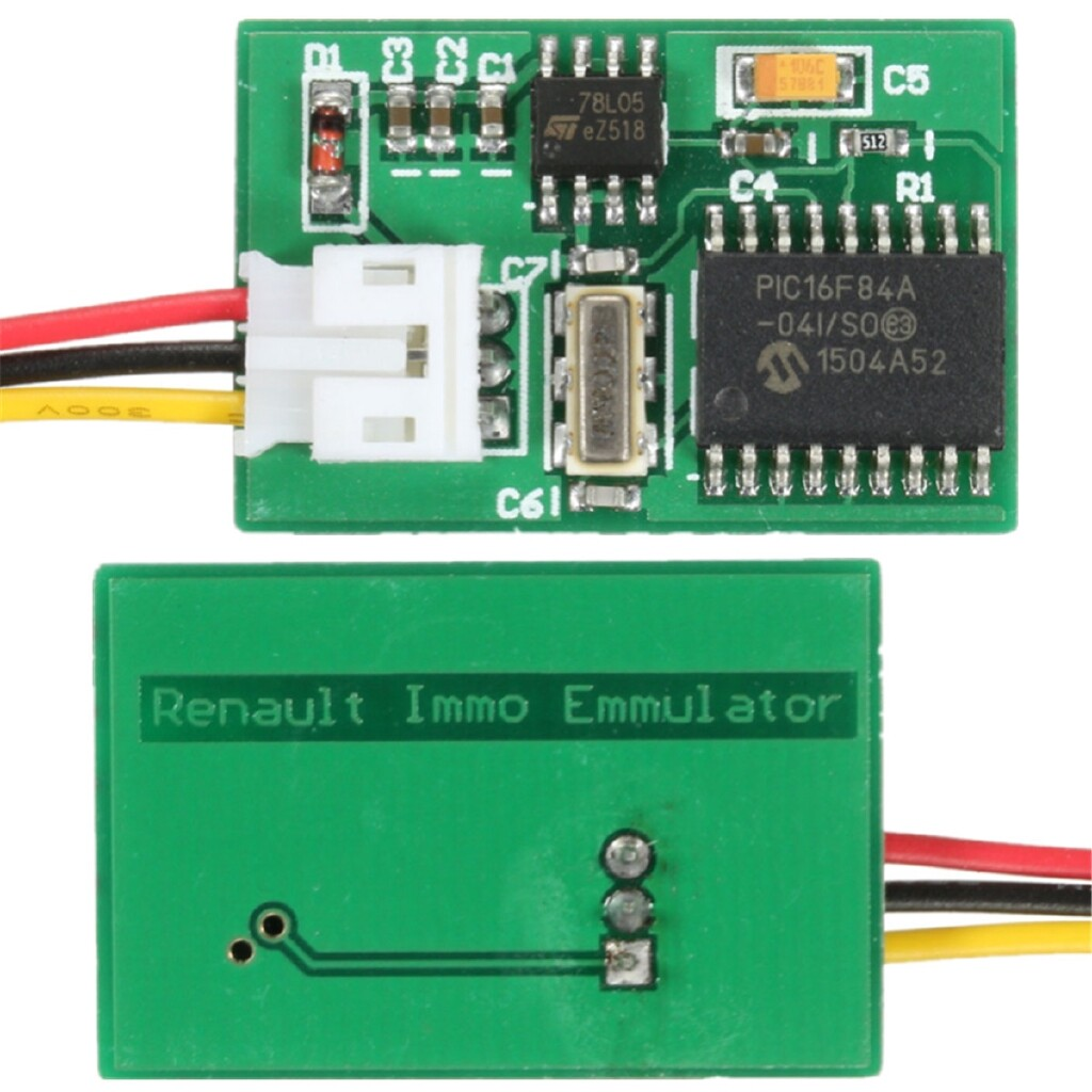 Car Electronics - Immobilizer Emulator Module For Renault Immo EDC15C3 DCU3R MSA15 SIRIUS32 FENIX5 - Automotive