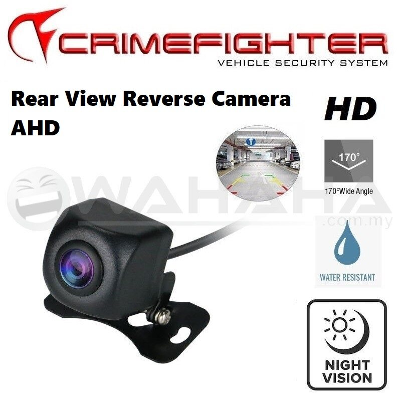 Crimefighter Car Rear View Reverse Camera Parking Camera AHD 170 Degree Wide Angle HD Camera
