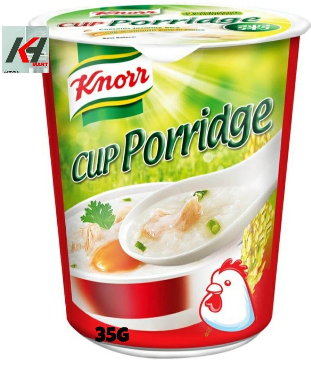 KNORR CUP PORRIDGE PERISA AYAM 35G READY STOCK