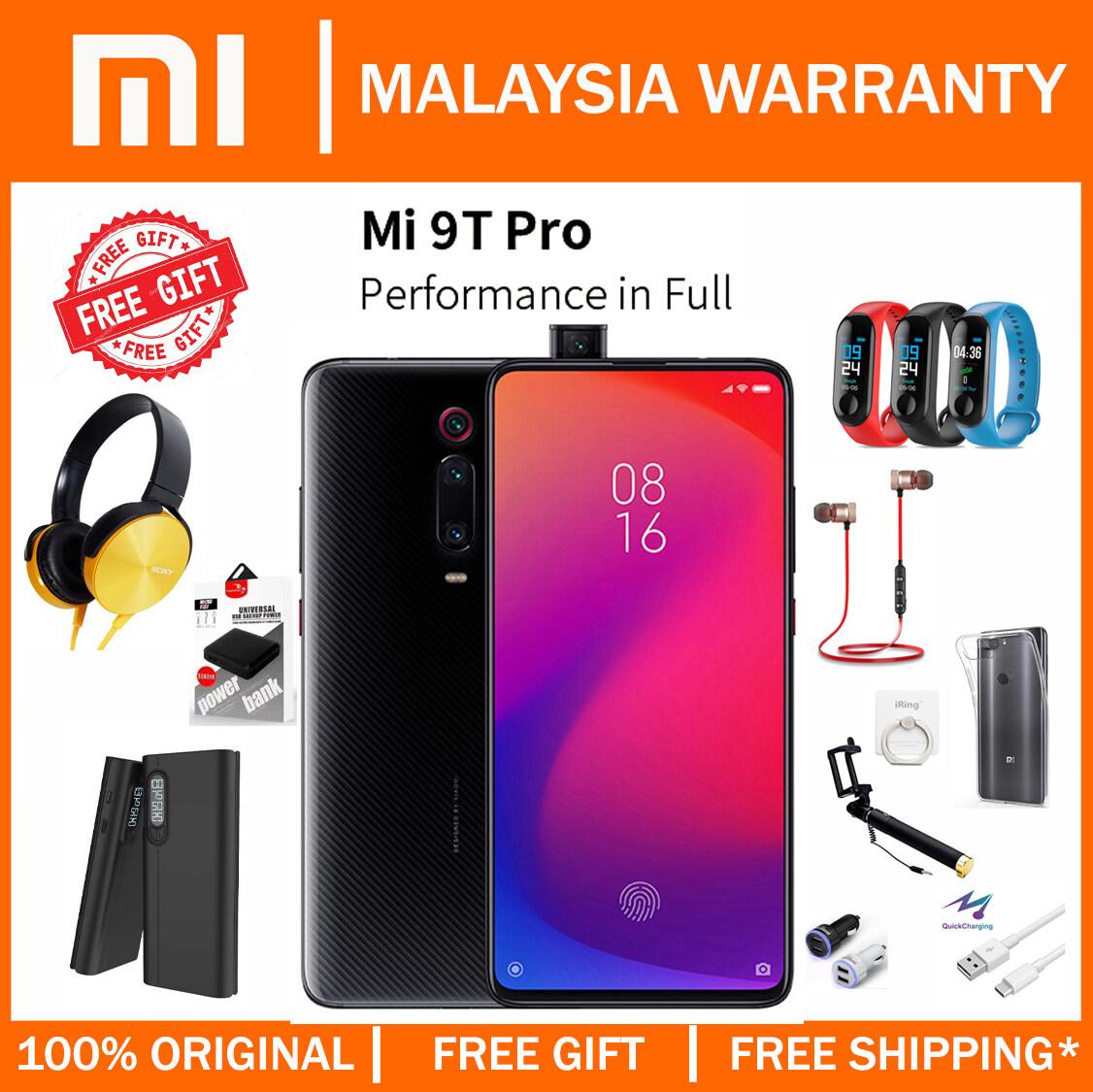 [MY SET] Xiaomi Mi 9T Pro (6GB+128GB) Smartphone Original Malaysia Warranty