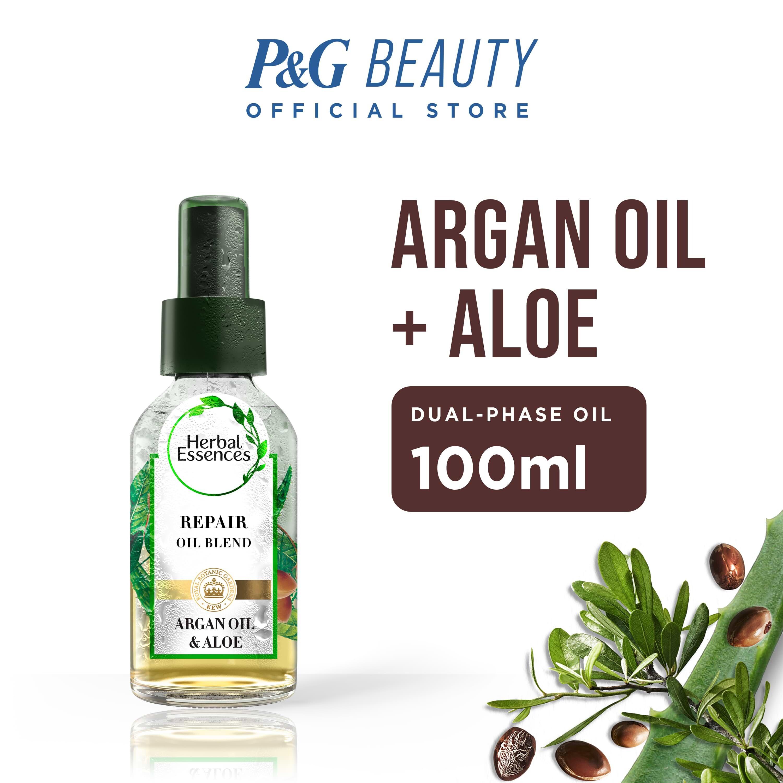Herbal Essences Argan & Aloe Hair Repair Oil Blend 100ml
