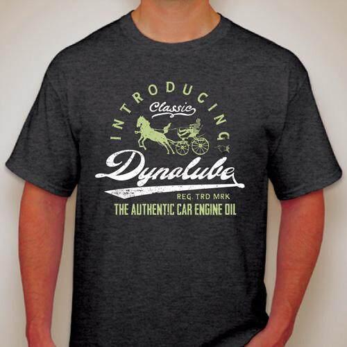 Dynolube Vintage Classic T-Shirt (Mens Womens Short Sleeve neck) [GM96-102]- S
