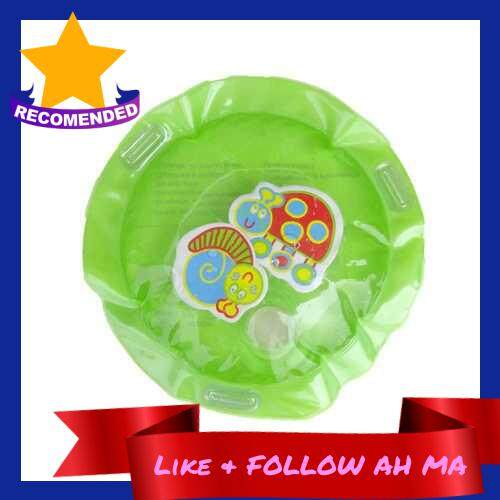 Best Selling Dual Use Toys Baby Inflatable Patted Pad Mat Baby Water Cushion Green (Green)