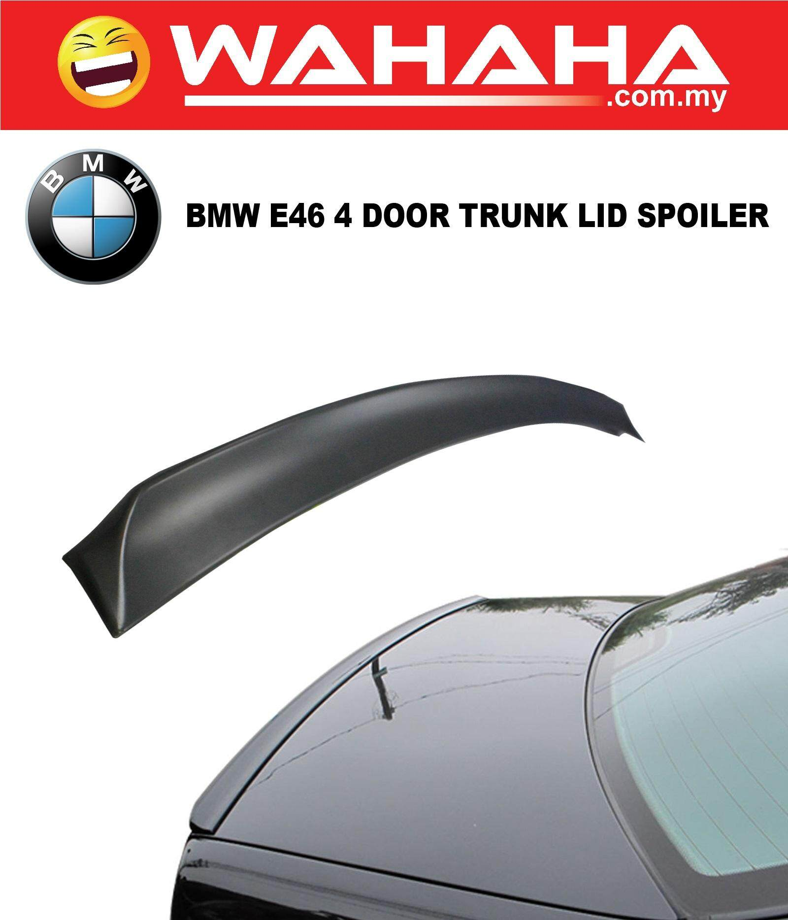 1999-2005 BMW E46 4 Door ACS Style Trunk Lid Spoiler Painted ABS