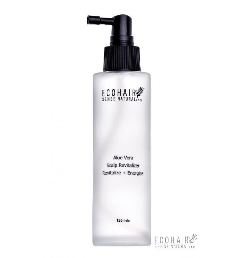 ECOHAIR Hair Growth System - Wheat Protein Aloe Vera Scalp Revitalize 120ml