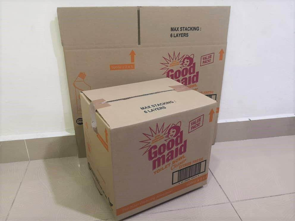 15pcs Printed Carton Boxes (L290 x W230 x H267mm)