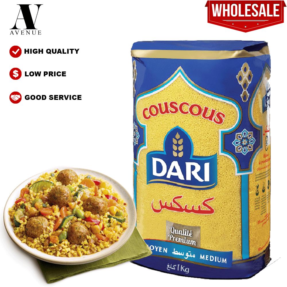Dari Durum wheat Couscous - Medium 1,1 KG كسكسي