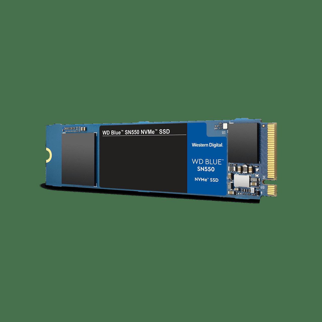 WD Western Digital M.2 PCIE NVME Blue SN550 SSD 250GB (WDS250G2B0C) / 500GB (WDS500G2B0C) / 1TB (WDS100T2B0C)