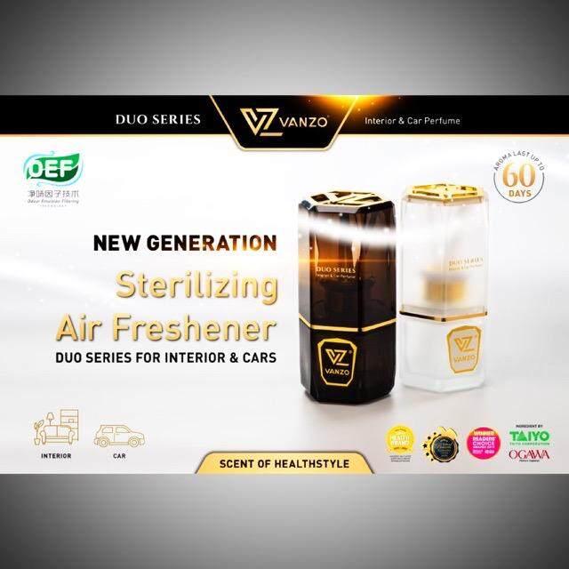 VANZO Duo Series 3355 & 3366 New Generation Sterilizing Air Freshener