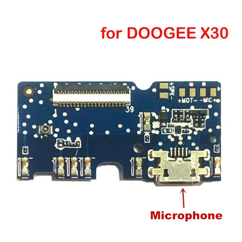 For Doogee X30 Phone USB Board Charge Port + Microphone Plug Repair Replacement