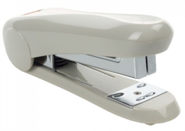 MAX Stapler HD-50 (rounded handle) Grey
