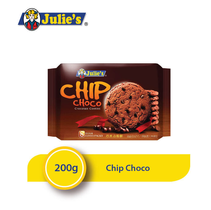 Julie's Chip Choco 200g x 1 pack