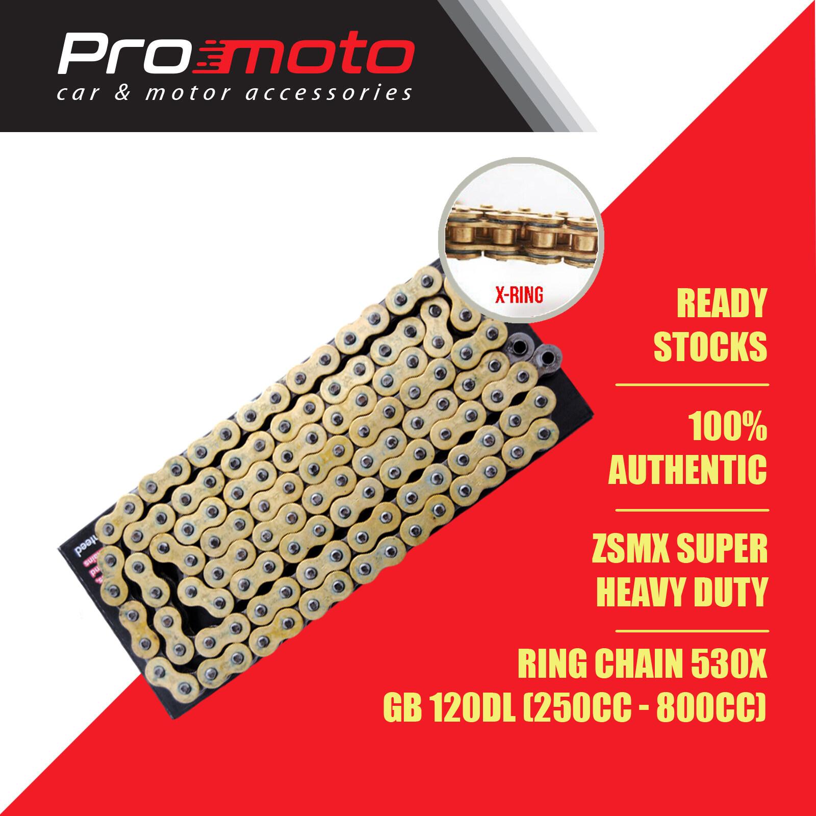 Jomthai 530 X RING Chain ZSMX (Super Heavy Duty) GB 120DL 250cc - 800cc
