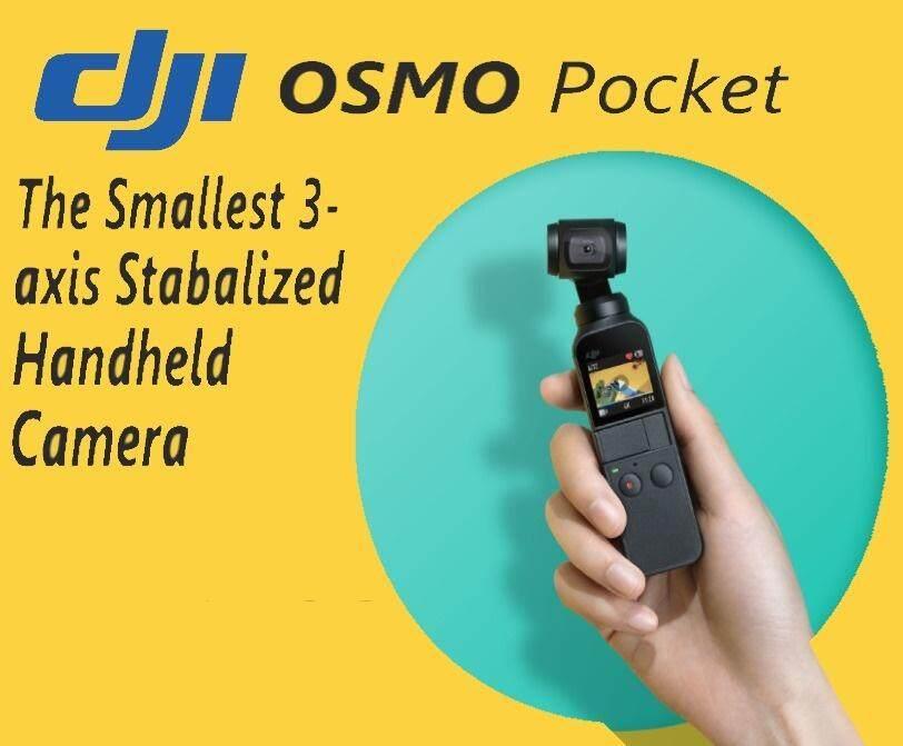 (DJI Malaysia Warranty) DJI OSMO Pocket Smallest 3-axis Stabilized Handheld Camera