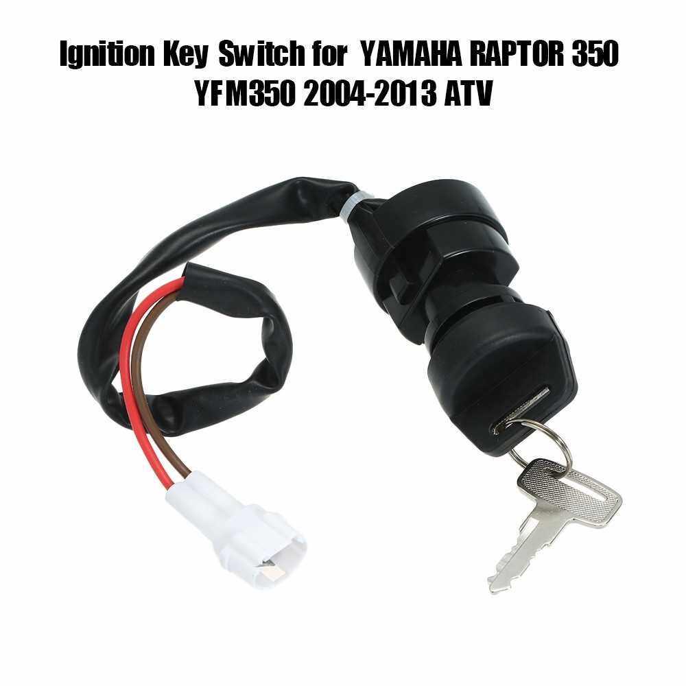 Ignition Key Switch for YAMAHA RAPTOR 350 YFM350 2004-2013 ATV (2)
