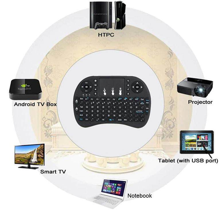 Mini USB Wireless Keyboard Air MouseTouchpad Remote Control for Smart Tv/ Tv Box