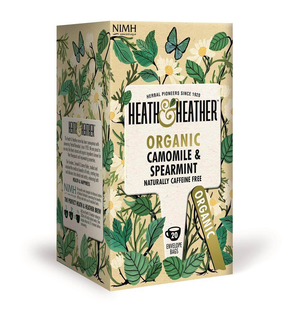 [MPLUS] TIFOLIFE HEATH AND HEATHER ORGANIC CAMOMILE & SPEARMINT 20G