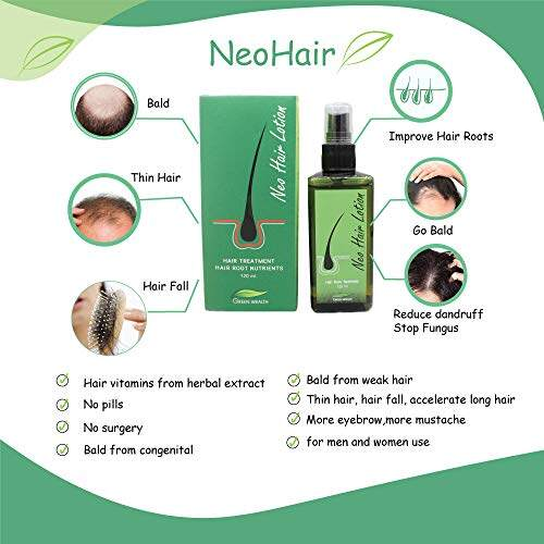 Neo Hair Lotion Neohair Serum Regrowth Treatment 120ml Herbal Ingredients No Side Effects