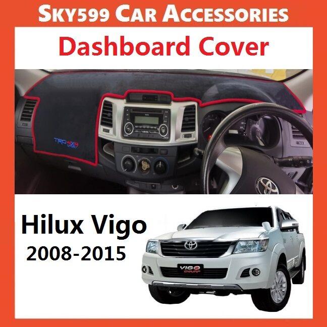 Toyota Hilux Vigo 2008-2015 Dashboard Cover Anti Slip Dashboard Mat High Quality