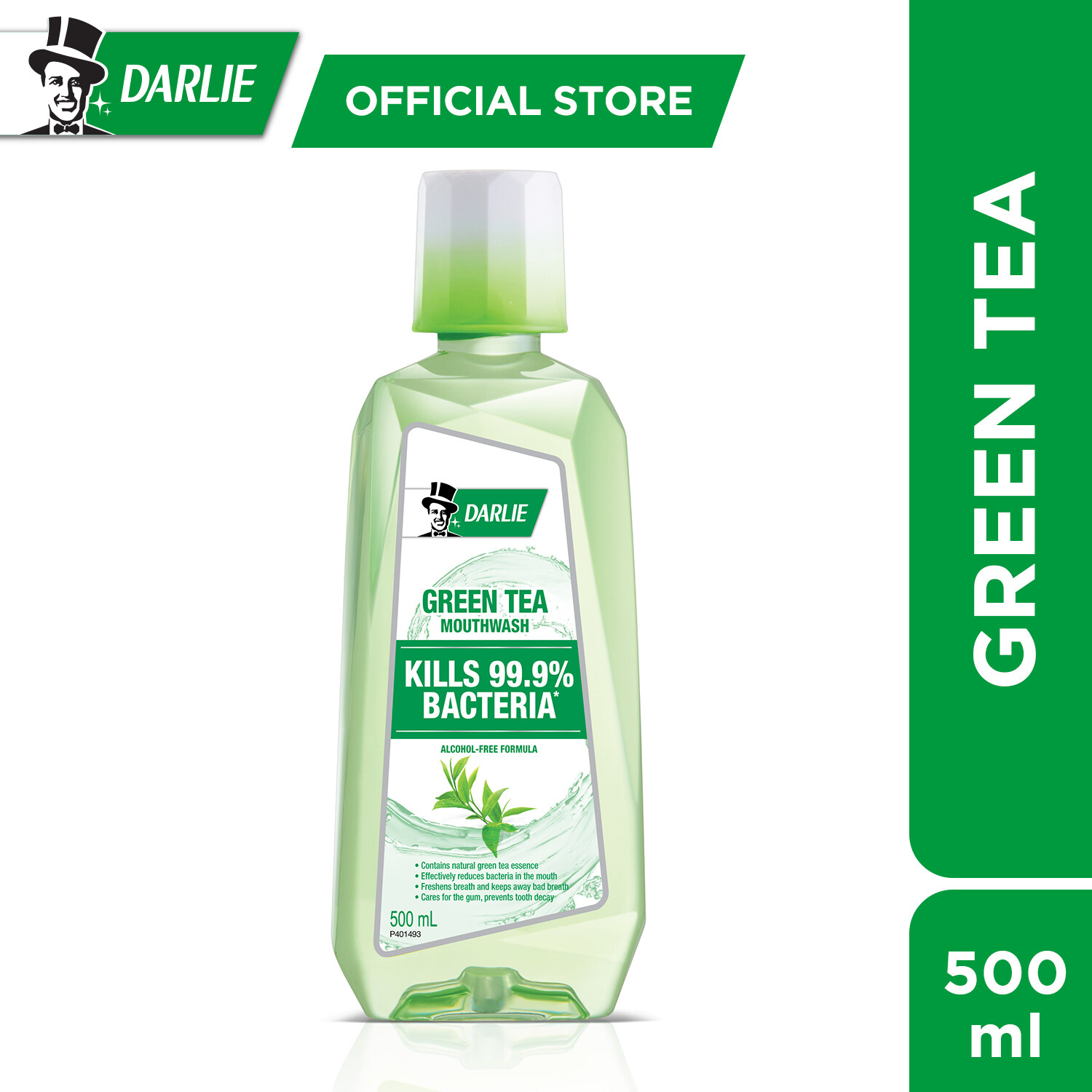 Darlie Mouth Rinse Green Tea 500 ml
