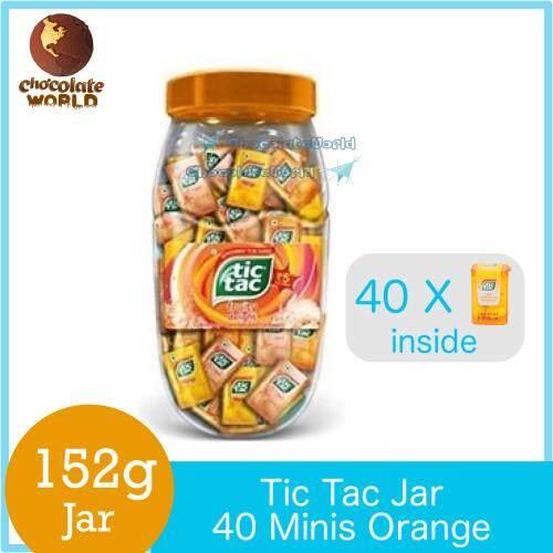 Tic Tac 40 Minis Orange Flavors 152g by Ferrero