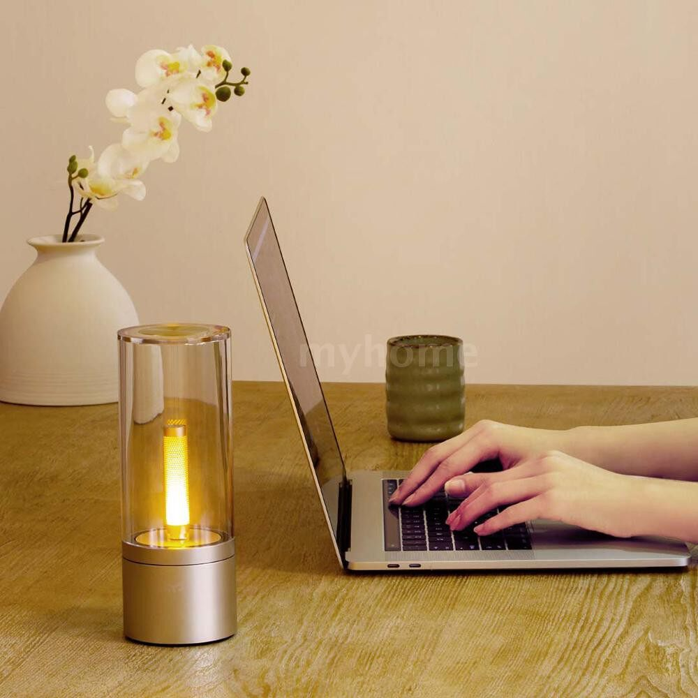 Lighting - LED Atmosphere Light Night Lamp Supported Smart Intelligent Cell Phone BT APP Control/ - SILVER