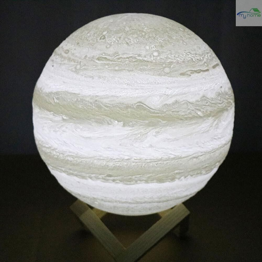Lighting Fixtures & Components - 20cm/7.9in Moon Night Light 3D Printed Moon Globe Lamp 2 Colors Warm and Cool White 3D Glowing Moon - WHITE-20CM / WHITE-18CM / WHITE-13CM / WHITE-15CM / WHITE-1OCM / WHITE-8CM