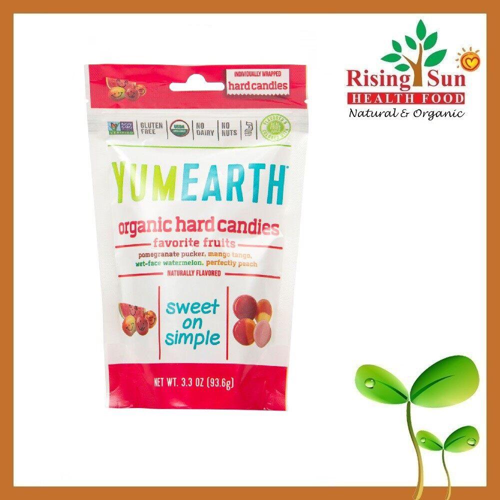 Yum Earth Organic Hard Candies 3 Oz