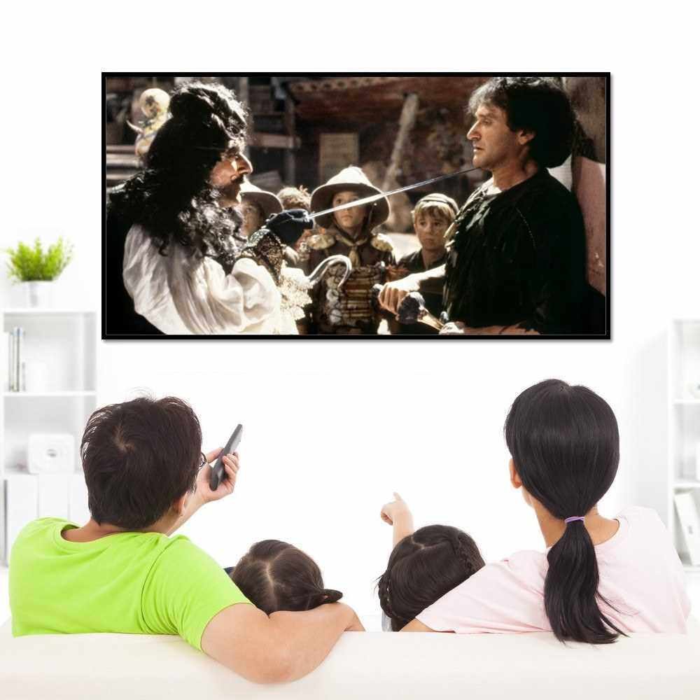 Folding Metal Layer Light Resistant Projector Screen Portable Movie Reflective Screen (130inch, 16:9) (11)