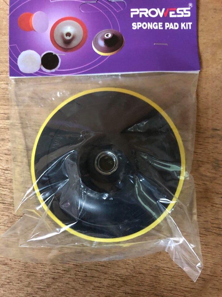 Prowess Sponge Pad Kits Fibre Disc