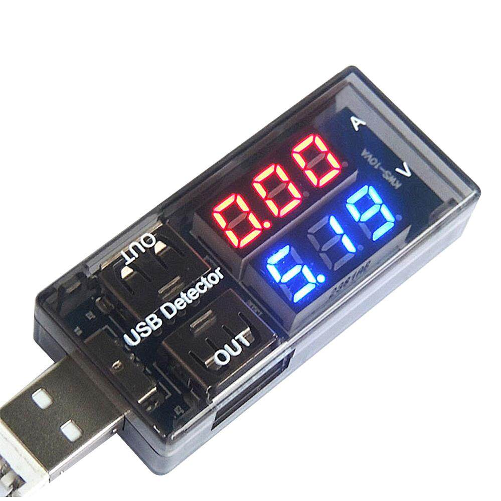 Mini Usb Tester Charger Doctor Voltmeter Ammeter Detector Digital Usb Mobile Power Charging Current Voltage Meter.
