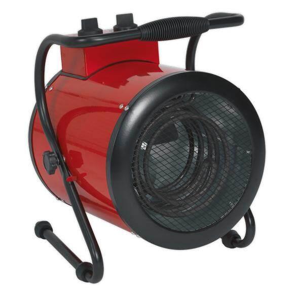 (Pre-order) Sealey Industrial Fan Heater 3kW 2 Heat Settings Model: EH3001