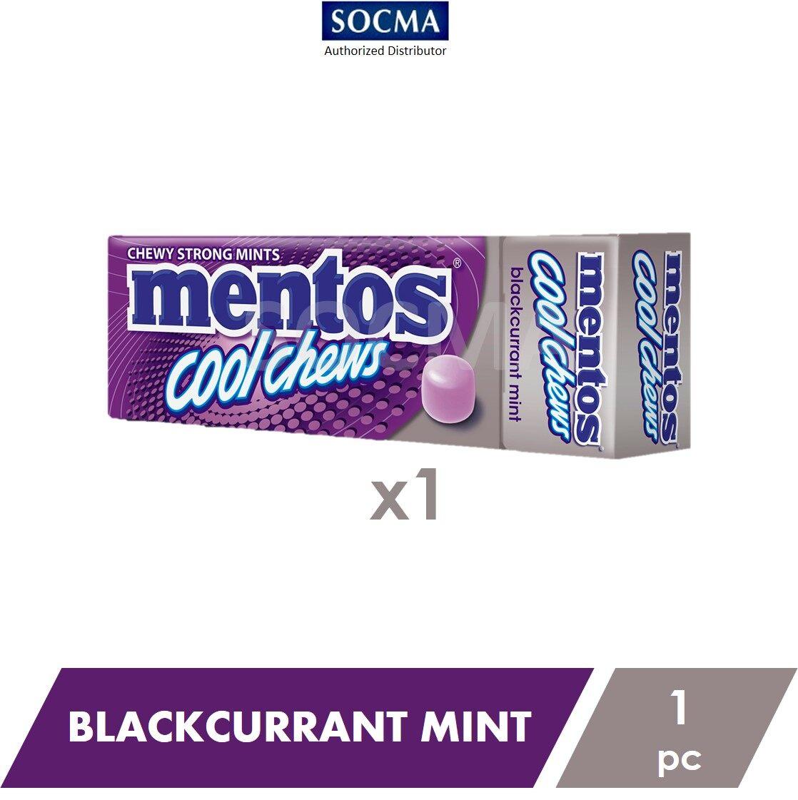 Mentos Cool Chews Blackcurrant Mint 33G [1]
