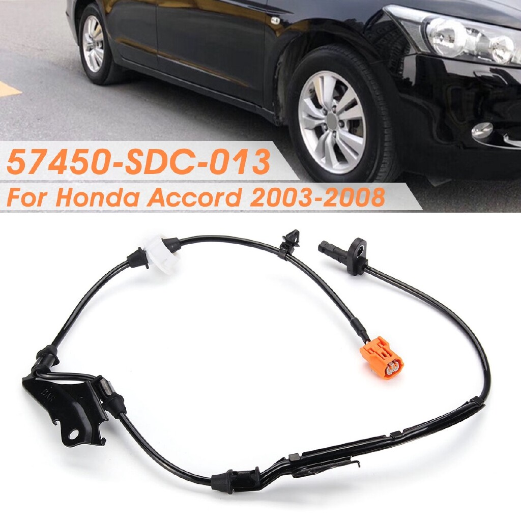 Car Electronics - ABS Wheel Speed Sensor Front Right For Honda Accord 2003-2008 57450-SDC-013 - Automotive