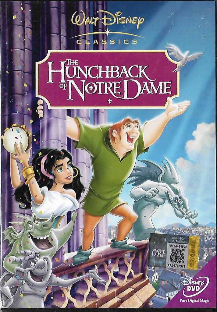 English Animated Movie The Hunchback of Notre Dame DVD Walt Disney Classics