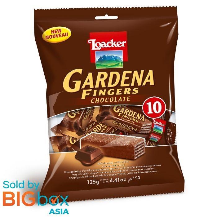 Loacker Gardena Fingers 125g - Chocolate