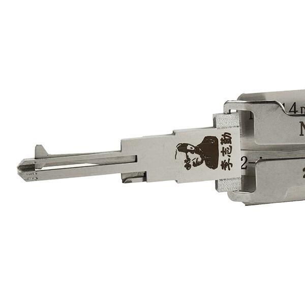 Automotive Tools & Equipment - NSN14 Dr/Bt 2 in 1 Car Door Lock Pick Decoder Unlock Tool - Car Replacement Parts