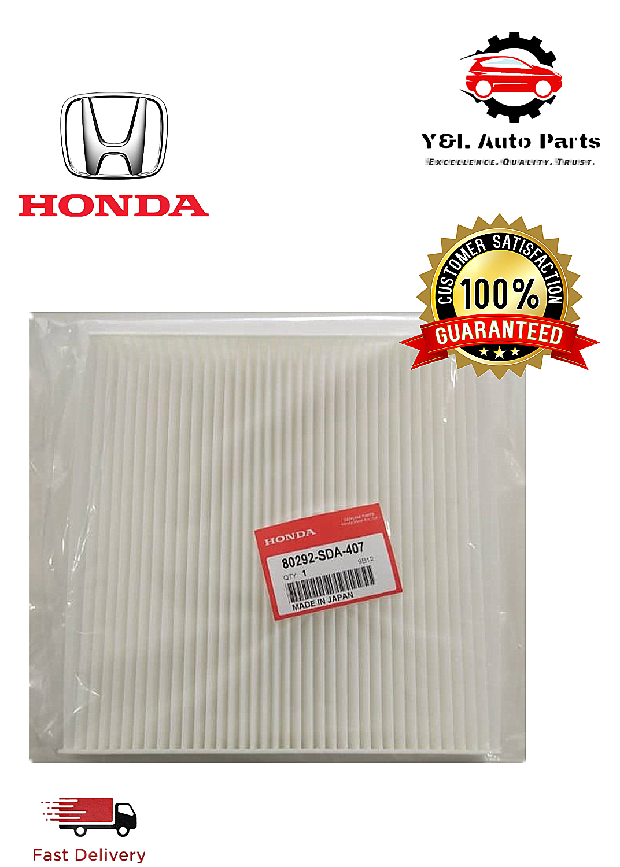 Genuine Honda 80292-SDA-407 Cabin Air-Filter for Honda Acura